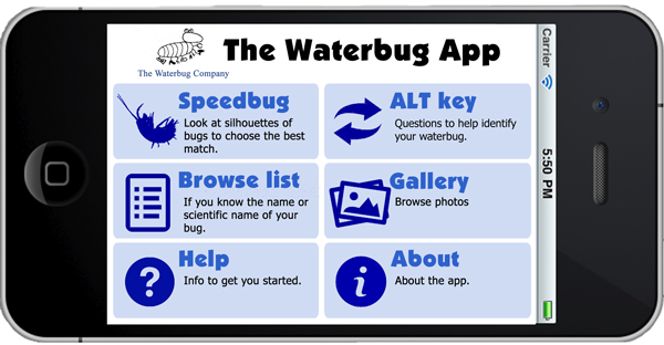 The Waterbug App